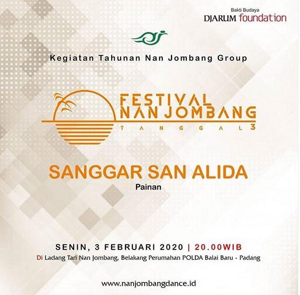 Festival Nan Jombang Tanggal 3 Edisi Februari 2020
