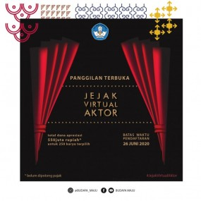 Program Jejak Virtual Aktor 2020
