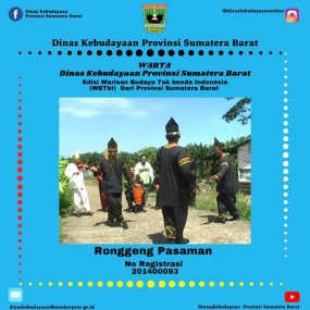 Warta Edisi Warisan Budaya Tak Benda Indonesia (WBTBI) Dari Provinsi Sumatera Barat, Ronggeng Pasaman